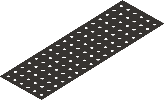 self-adhesive eva foam with holes for silicone of the spcore structure for floors and walls