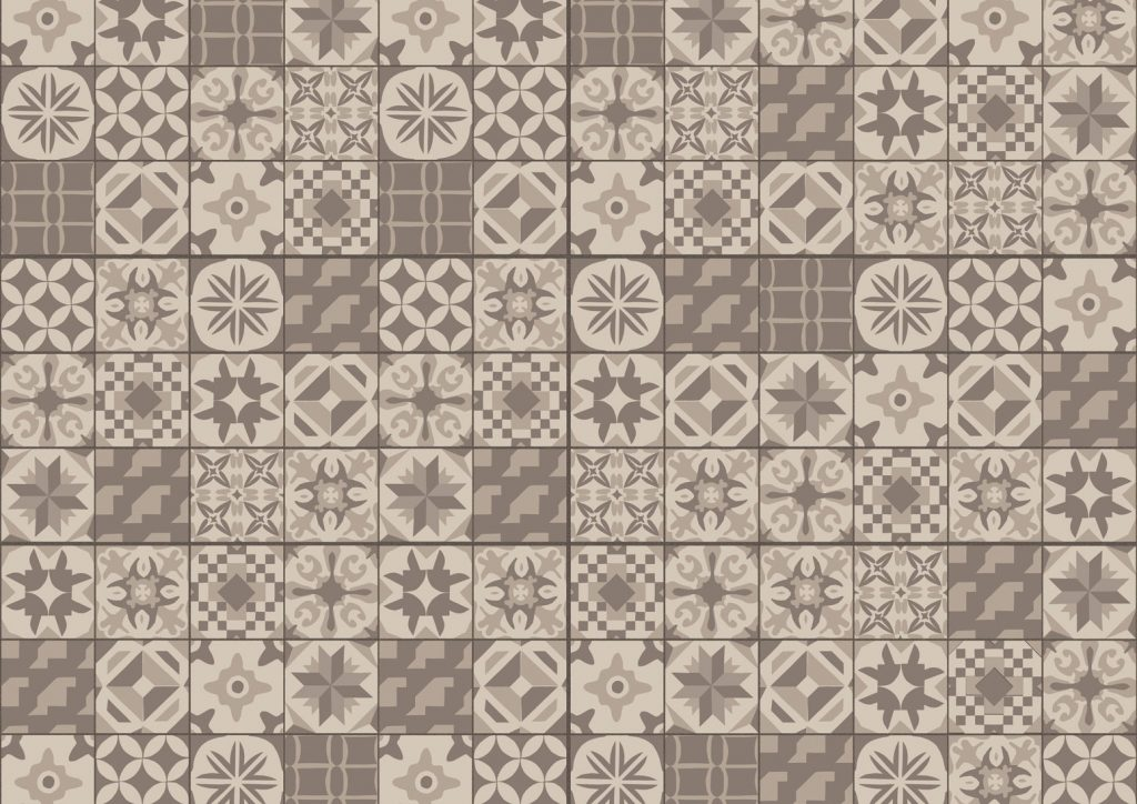Composition of Casablanca Ceramic NCC-04 from the nature collection