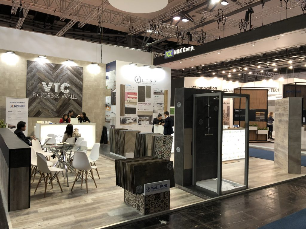 VTC's booth